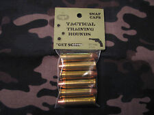 357 MAGNUM TACTICAL TRAINING ROUNDS,  SET OF 6 SNAP CAPS