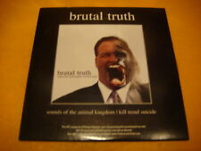 Cardsleeve Full CD BRUTAL TRUTH Sounds Of The Animal Kingdom PROMO 30TR 2006 gri