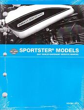 2007 Harley Sportster 883 1200 XL883 XL1200 1200R Repair Service Manual 99484-07