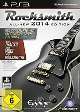ROCKSMITH 2 2014 14 CABLE REAL TONE EDITION TEXTOS EN CASTELLANO NUEVO PS3