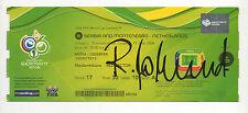 Orig.Ticket   WM Deutschland 2006   SERBIEN / MONTENEGRO - NIEDERLANDE / Spiel 6