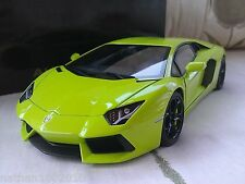 Lamborghini Aventador LP 700-4 - Green - 1/18 Diecast Model Car Autoart