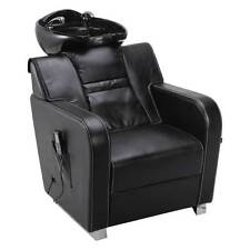 MASSAGE SHAMPOO STATION SALON BEAUTY BACKWASH CHAIR UNIT CERAMIC SINK BOWL