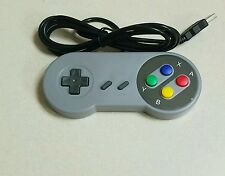 Super Nintendo Famicom SF SNES PC Mac Controller Gamepad Joypad USB Windows