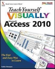 Teach Yourself Visually Access 2010 by Wempen, Faithe, Good Book