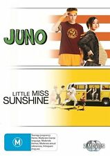 Juno / Little Miss Sunshine (2 DVD Set), Region 4, NEW & SEALED, FastPost...2855