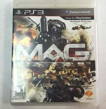 MAG (Sony PlayStation 3, 2010) PS3 Online First-Person Shooter Video Game