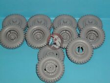 Tank Workshop 1/35 M26 Tank Recovery Vehicle Wheels (11 pieces) (Tamiya) 350102