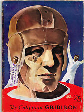 1933  ST MARYS vs CALIFORNIA  Football Program NCAA