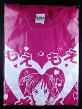 K-On! Keion Mio Akiyama Moe Moe Kyun T-shirt L Size Pink C76 Exhaust