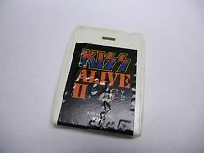 KISS Alive II Volume 1 & Volume II 8-Track Tape 1977 Casablanca Records