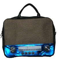 "Notebooktasche im Retro-Style 39,6cm (15"") Kult 70er Retro Radio Bag"