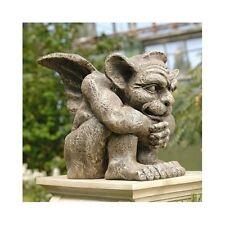 Gargoyle Sculpture Garden Statue Gothic Figurine Winged Guardian Medieval Dragon
