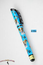 Jack Russell Terrier Dog Gel Replaceable Writing Pen Ballpoint Black Ink