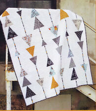 Sergeant Pepper - modern  pieced quilt  PATTERN - Abbey Lane Quilts