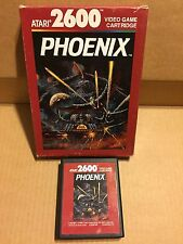 VIDEOGAME ATARI 2600 PHONEIX PERFECT VINTAGE!