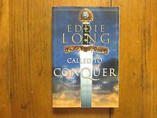 "BISHOP  EDDIE LONG  Signed Book (""CALLED  TO CONQUER""-2000 1st  Edition Softback"