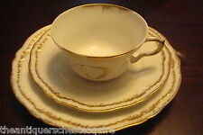 Theodore Haviland, Limoges, France TRIO, dessert plate, cup and saucer [4-35]