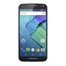 "NEW Motorola Moto X Pure Edition 5.7"" Unlocked 32GB Black w/ Grey Trim XT1575"