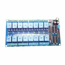 LM2596 Power Controller Optocoupler Protect for SCM 5V 16 Channel Relay Module