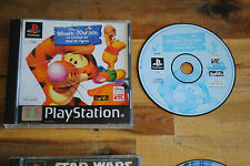Jeu WINNIE L'OURSON sur Playstation 1 PS1 (one) REMIS A NEUF