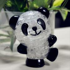3D Crystal Puzzle Jigsaw Model Diy Panda Funny Children Intellectual Toy Gift