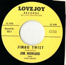 Jim Howard - Jimbo Twist / Down At Old Jimbo's - Lovejoy - Rockabilly RE