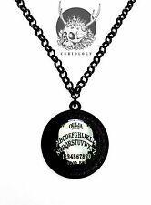 Curiology Ouija Cameo Necklace Punk Goth Rockabilly Halloween Jewelry