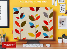 "MACKET - Made in UK  - Apple iMac Cover 21.5"" OLIVE LEAF - Dust Jacket"