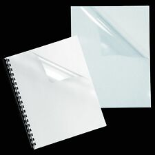 "7 Mil Crystal Clear Binding Covers, 8.5 x 11"", Pack of 100"
