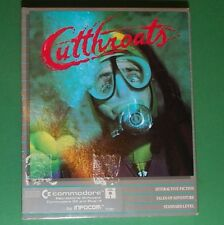 Commodore C64 - Disk - Infocom - Cutthroats, 1984