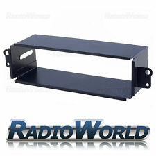 Daewoo Matiz Nubira Lanos Radio Black Fascia Panel Cage Trim Single Din FP-16-00