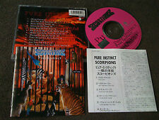 SCORPIONS / pure instinct / JAPAN LTD CD bonus track