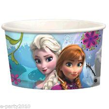 FROZEN ICE CREAM CUPS (8) ~Birthday Party Supplies Treat Favor Elsa Anna Dessert