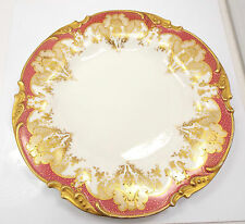 Antiques Limoges JPL Pouyat Handpainted Gold Encrusted Plate, 9 1/2""
