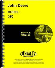 John Deere 350 Crawler Service Manual