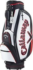 Callaway Sport 17 JM Caddy Bag New WH*BK*RED 9* 47inch 6Way Top From Japan 2017