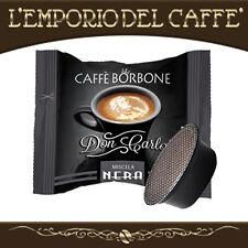 100 Capsule Cialde Caffè Borbone Don Carlo Nero compatibili Lavazza A Modo Mio