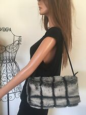 Suzy Smith Faux Fur Bag Designer Fashion Hip Winter Chic Women