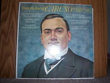 "RCA/Victor SP-33-75 Enrico Caruso - From The Best Of Caruso  1960 12"" 33 RPM"
