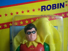 D0573021 ROBIN SUPER POWERS MOSC MINT CARD KENNER W/ CASE SMALLER CARD