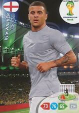 N°133 KYLE WALKER # ENGLAND PANINI CARD ADRENALYN WORLD CUP BRAZIL 2014