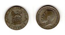 1924 6d Silver SIXPENCE six pence King George V (a)