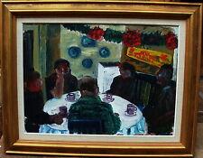 """Evy Laas 1923-1999, """"Caffè di natale"""", a 1960/70"""