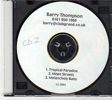 (EX625) Barry Thompson, Tropical Paradise - 2004 DJ CD