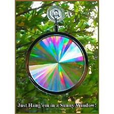 Suncatcher - Rainbow Axicon Window Sun Catcher  3D Glasses Direct BRAND NEW  SGI