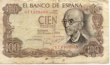 ESPAGNE SPAIN ESPANA 100 PTS 1970 état voir scan 069
