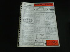 FICHE TECHNIQUE AUTOMOBILE RTA AUDI 100 L-100 LS MOTEUR 1.6 l (support3)