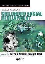 Blackwell Handbook of Childhood Social Development (Blackwell Handbook-ExLibrary