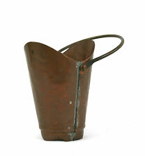 Vintage Small Copper Bucket Hand Made Hammered Wigorn Crafts Made In England